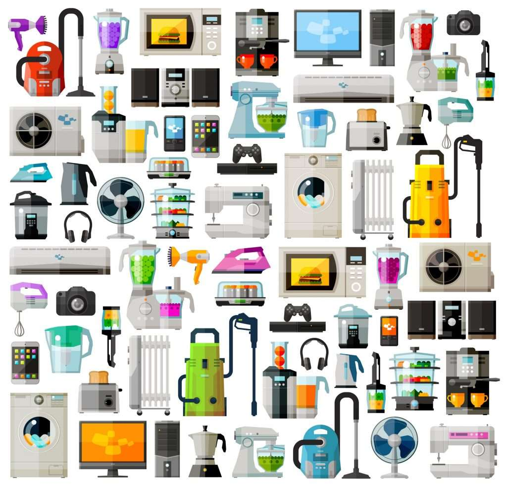All the appliances powered by energy commission